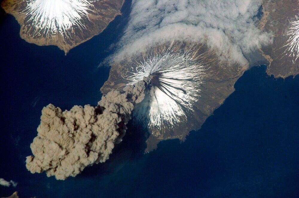 Cleveland Vulkan der Aleuten in Alaska