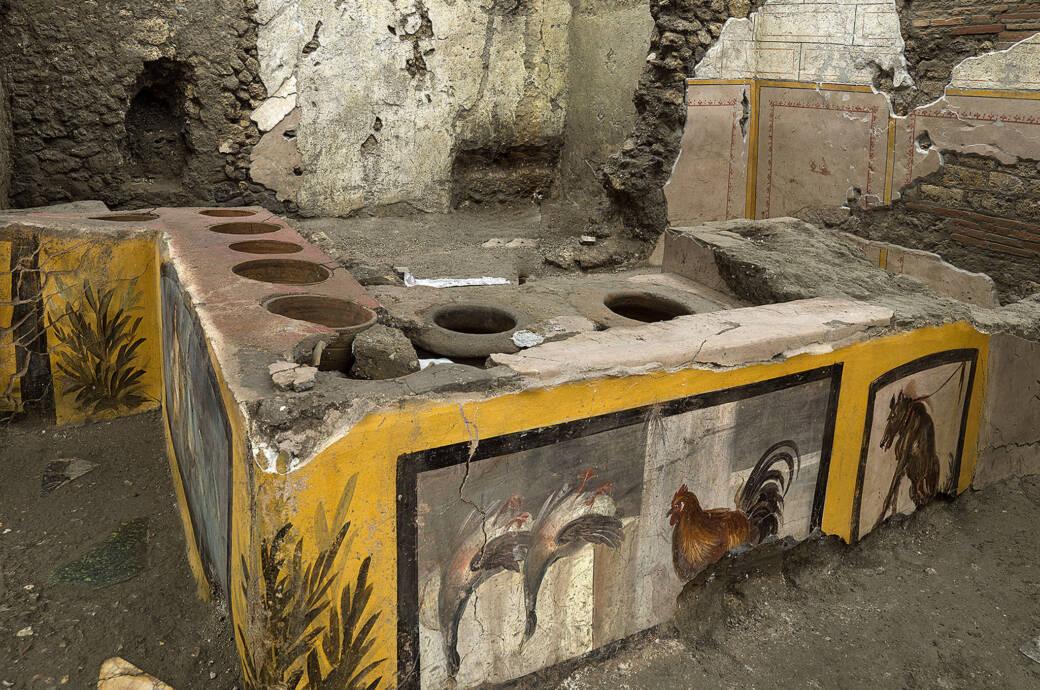 Pompeji Attraktion Thermopolium