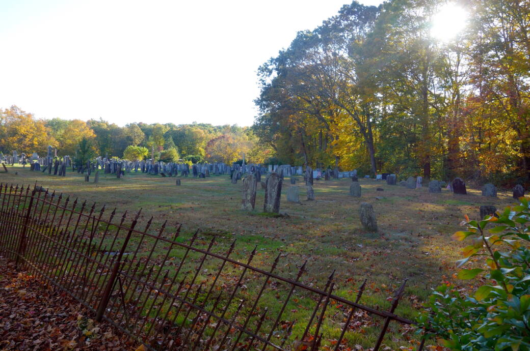 Union Cemetery in Easton, Connecticut
