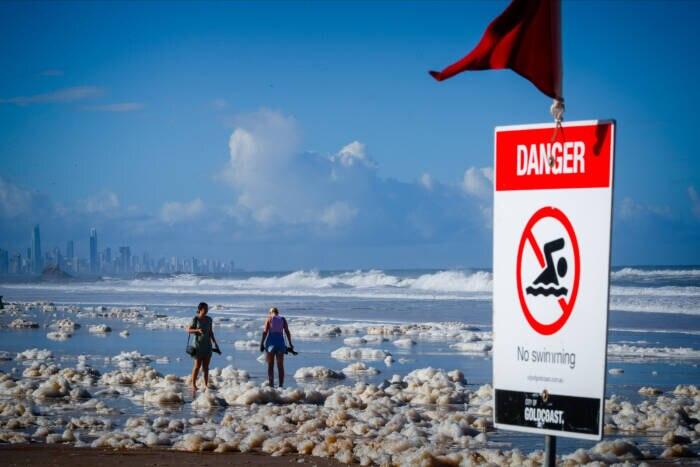 Meeresschaum Australien