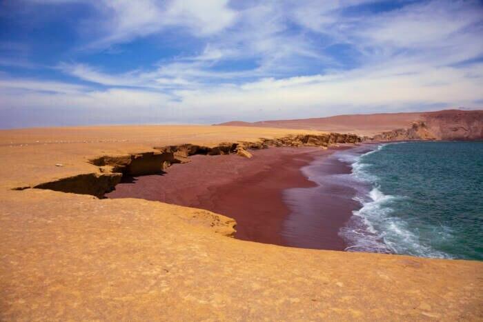 Playa Roja, Peru