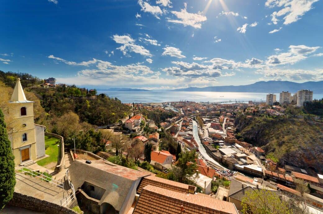 Rijeka in Kroatien