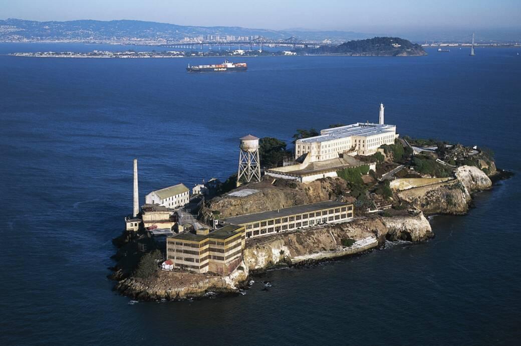 Alcatraz Insel Gefängnis