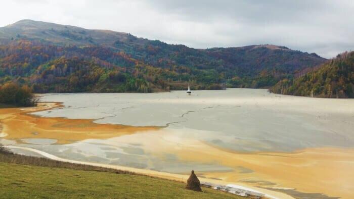 Geamana, See in Rumänien