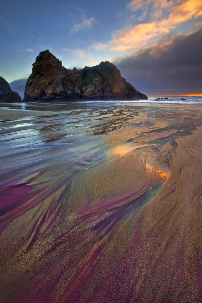 Pfeiffer Beach in Kalifornien
