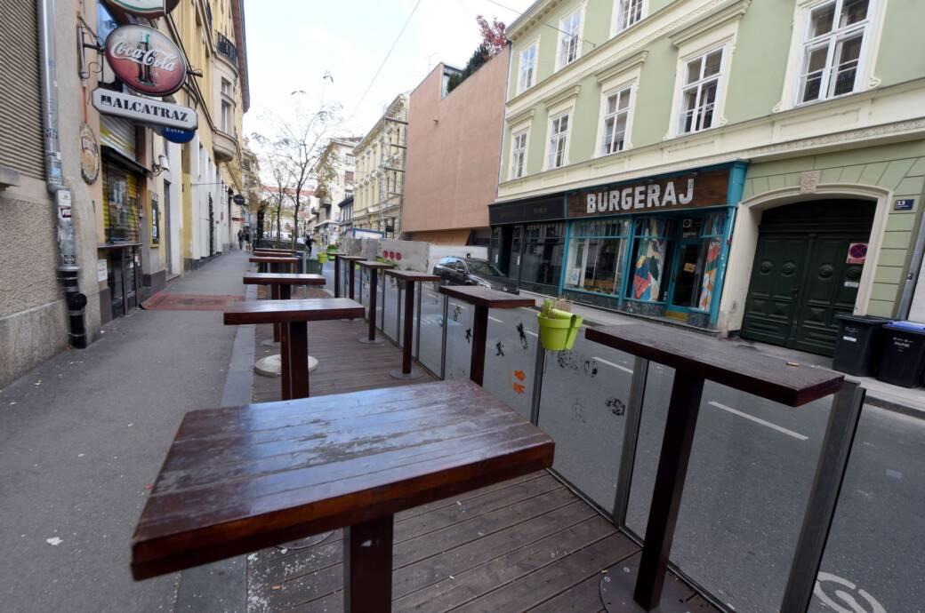 Zagreb Kroatien Coronavirus