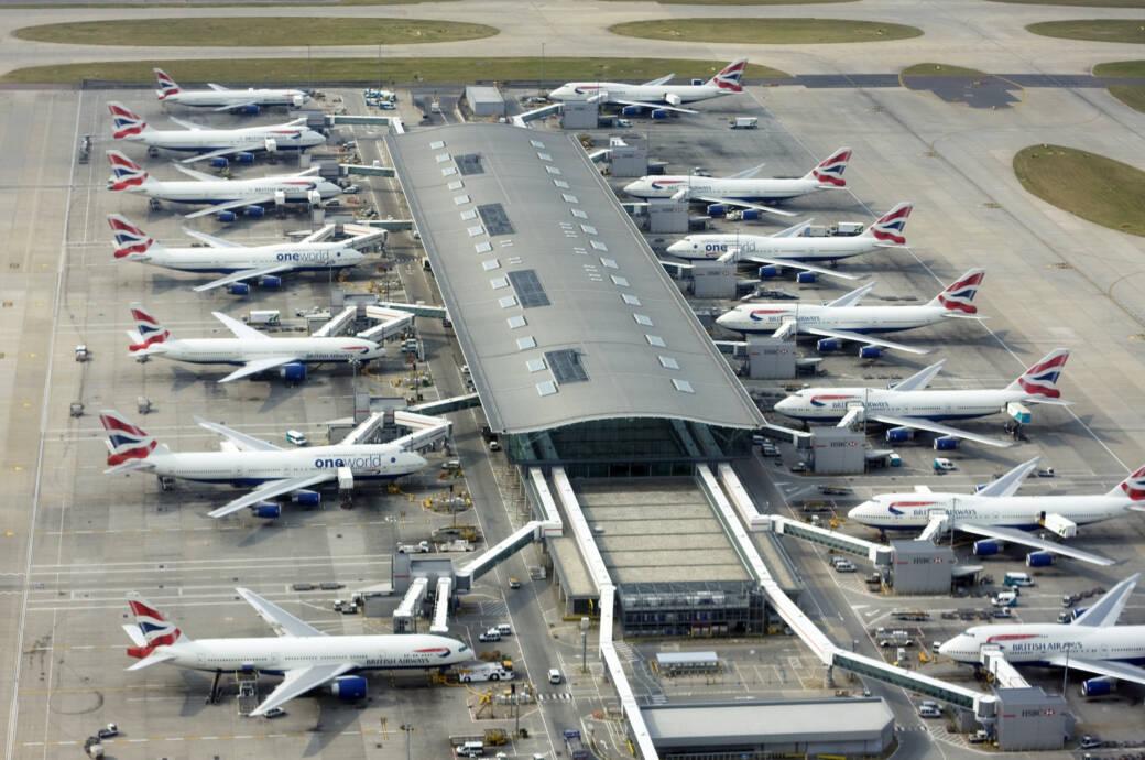 London-Heathrow war größter Flughafen in Europa
