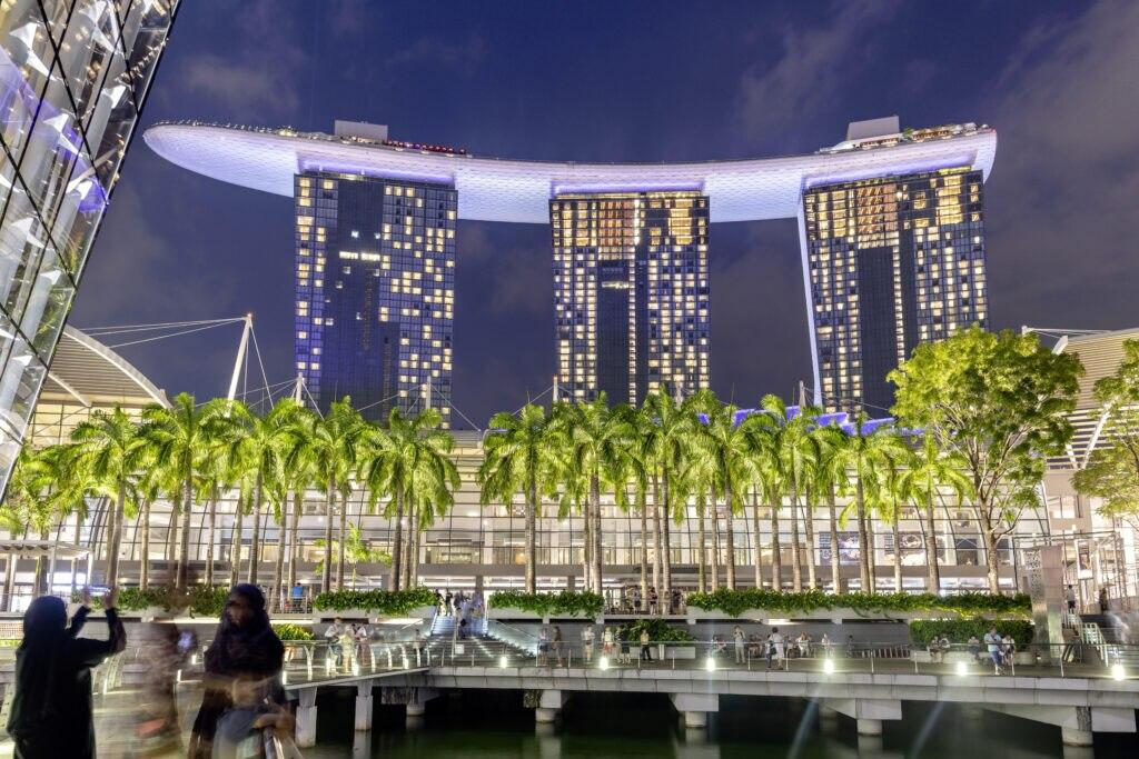 Marina Bay Sands Resort fue construido en 2010