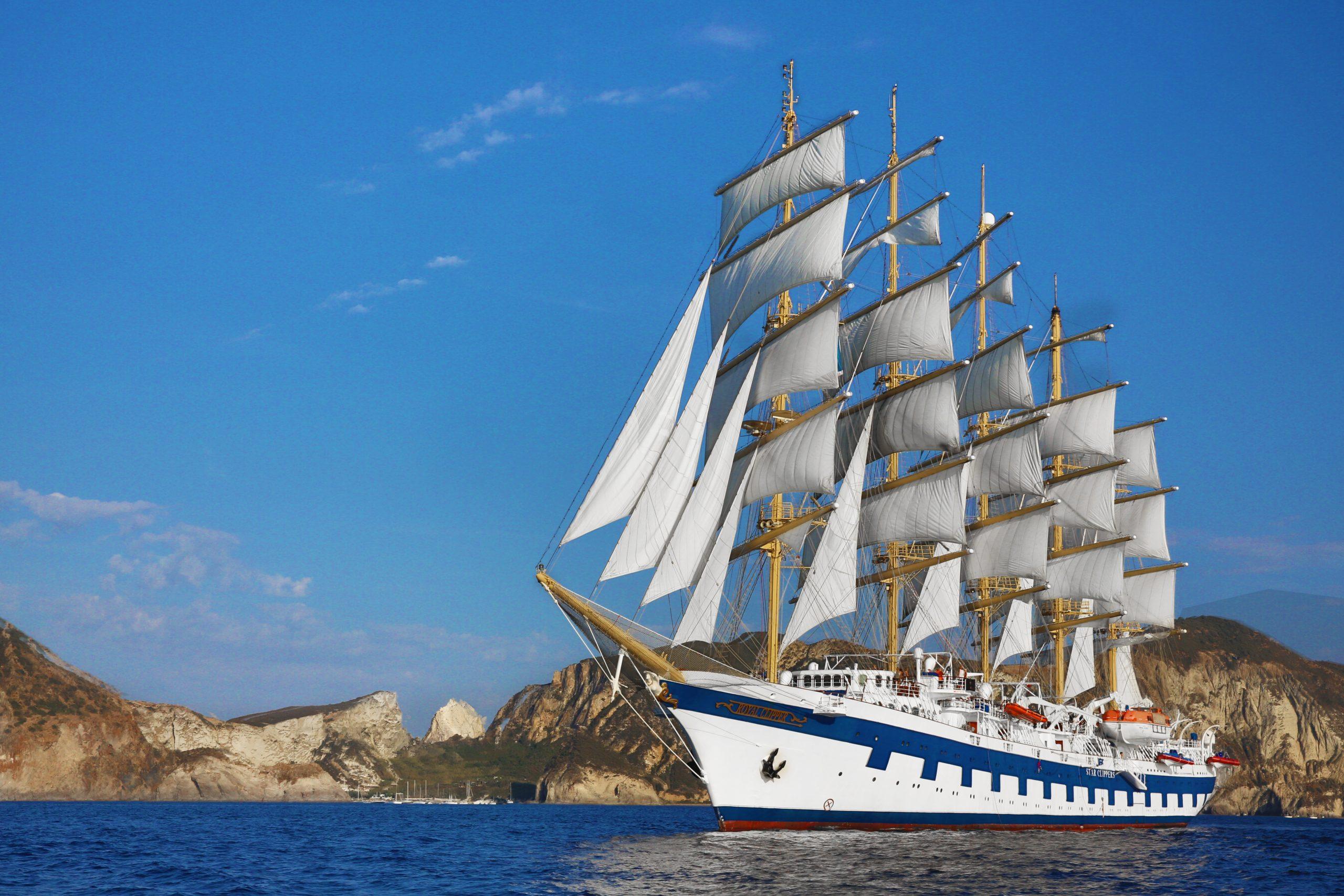 """Die """"Royal Clipper ist das größte Segelschiff der Welt"""